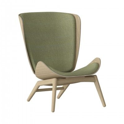 THE READER ARMCHAIR GREEN OAK