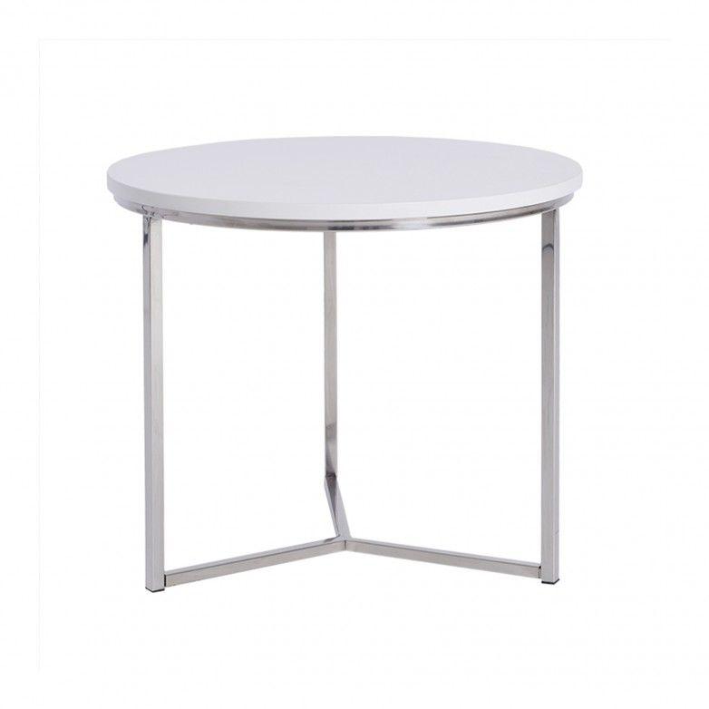 LITTLE WHITE SIDE TABLE