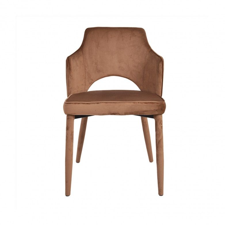 SOFIA BROWN CHAIR