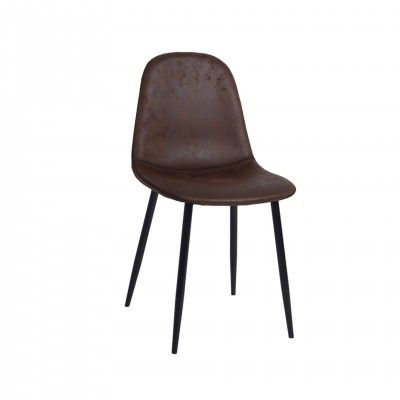 ROUND BROWN CHAIR