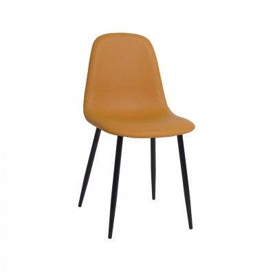 ROUND ORANGE CHAIR