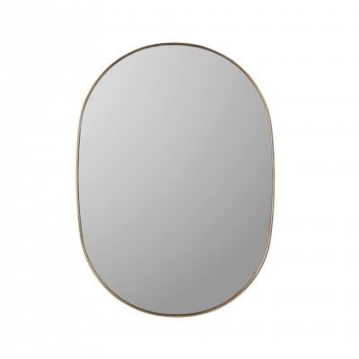 OVAL GOLDEN MIRROR