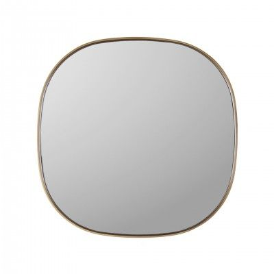 SQUARE GOLDEN MIRROR
