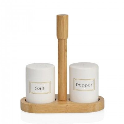 BAMBU SALT/PEPPER SET - ANDREA HOUSE