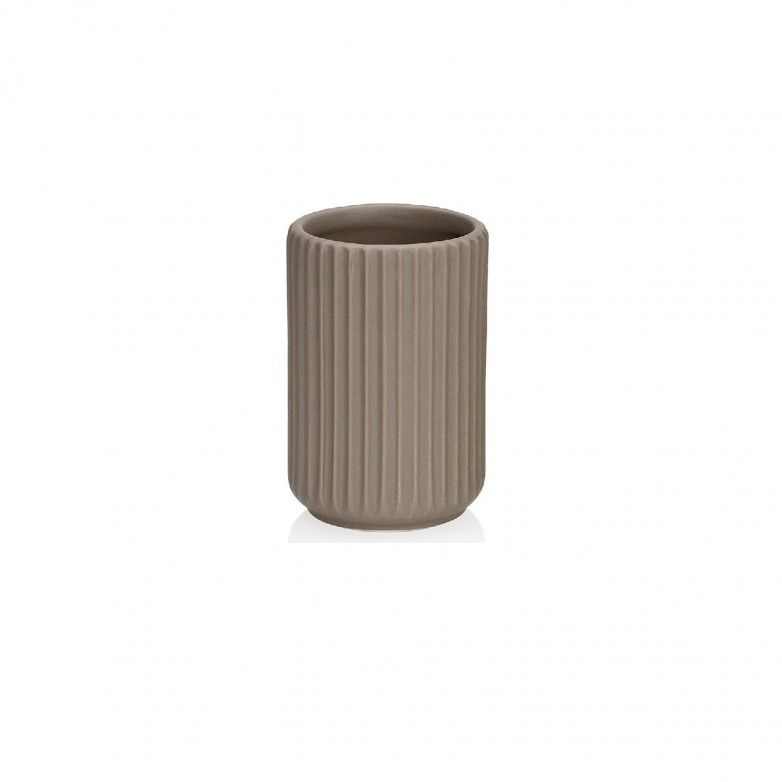 STRIPE TOOTHBRUSH HOLDER
