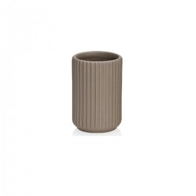 STRIPE TOOTHBRUSH HOLDER - ANDREA HOUSE