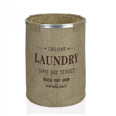 SERVICE ROUND LAUNDRY BASKET - ANDREA HOUSE