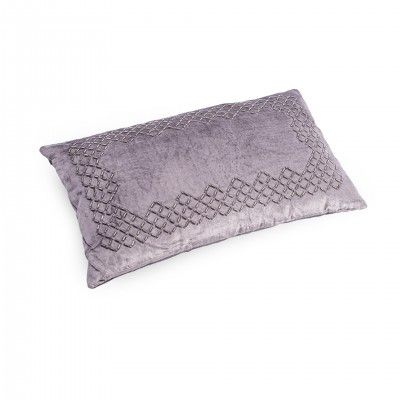 RECTANGULAR PURPLE PILLOW
