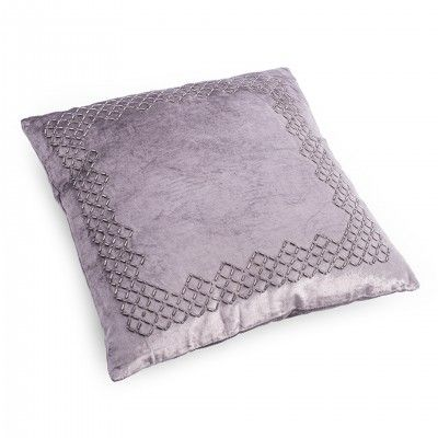 SQUARE PURPLE PILLOW