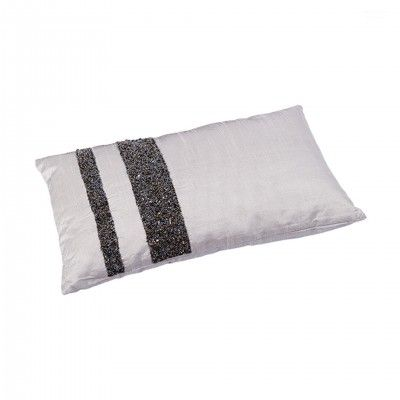 RECTANGULAR SILVER PILLOW