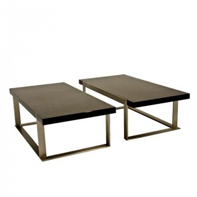 BLACK OULU CENTER TABLE