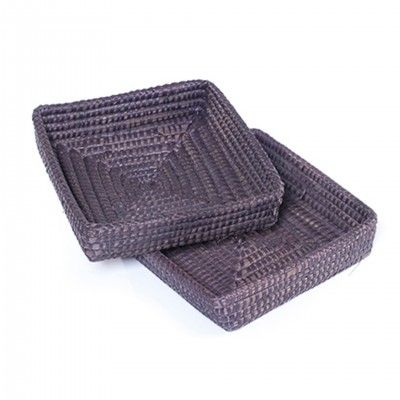 SET 2 DARK AGRA BASKETS I