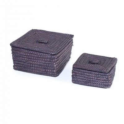 SET 2 DARK AGRA BASKETS