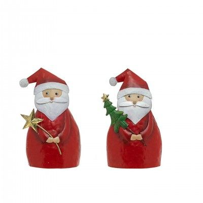 METAL SANTA CLAUS DECORATIVE