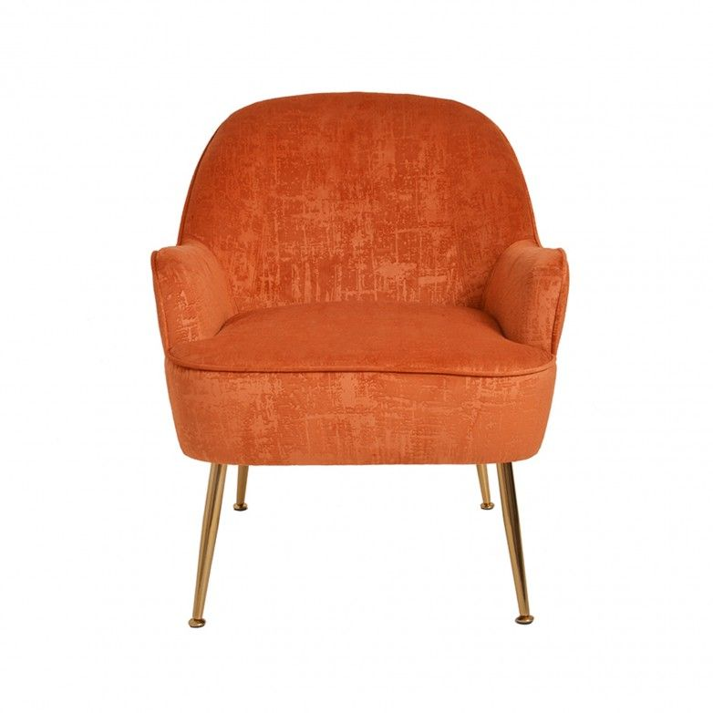 ORANGE SFUMATO ARMCHAIR