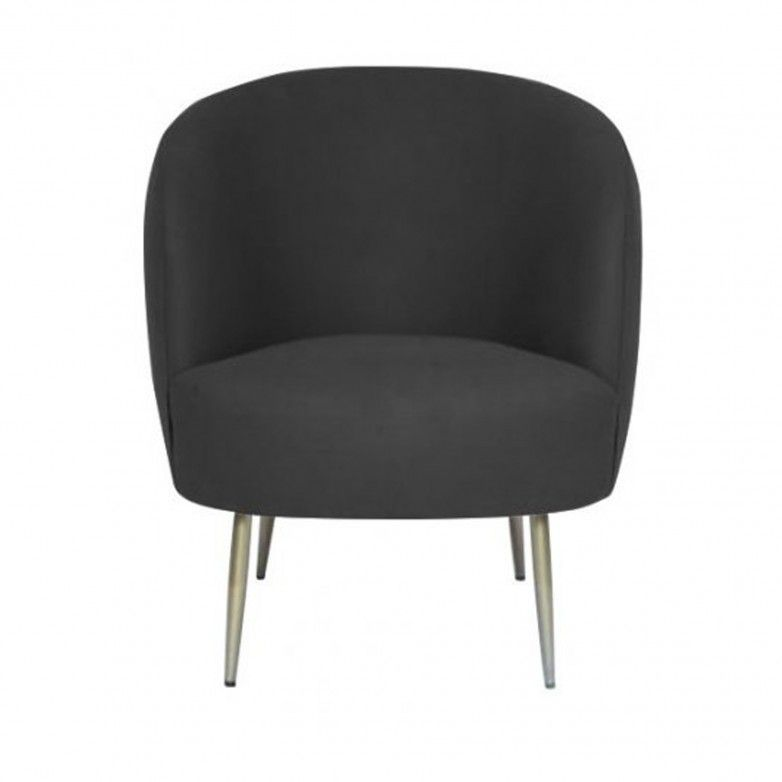 BLACK BASEL ARMCHAIR
