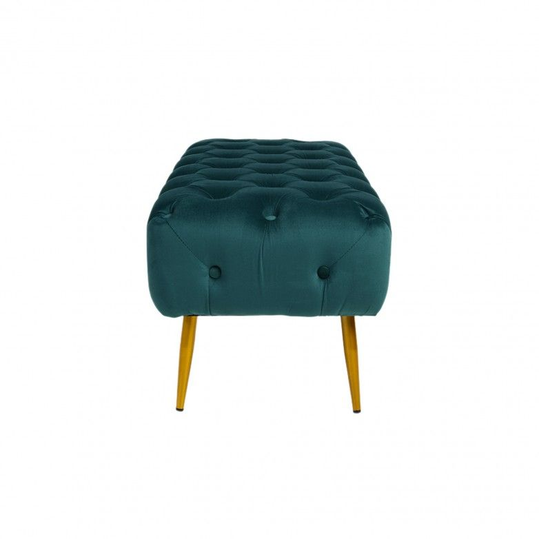 GREEN BUTTON STOOL