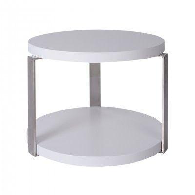ROUND OAK CENTER TABLE