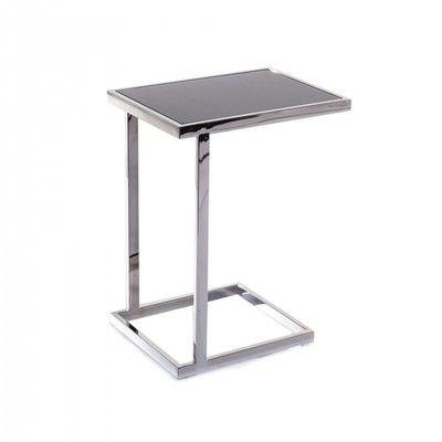 METAL LOOK SIDE TABLE