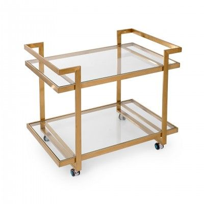 BRITISH TEA TROLLEY
