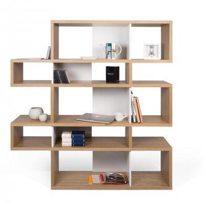 ESTANTE LONDON OAK WHITE I