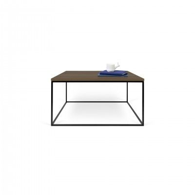 WALNUT BLACK GLEAM SIDE TABLE I