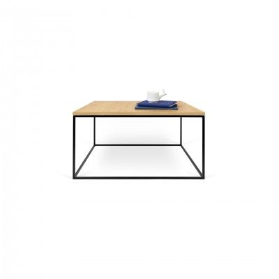 OAK BLACK GLEAM SIDE TABLE I