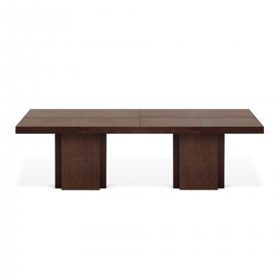 BROWN RECTANGULAR DUSK DINING TABLE