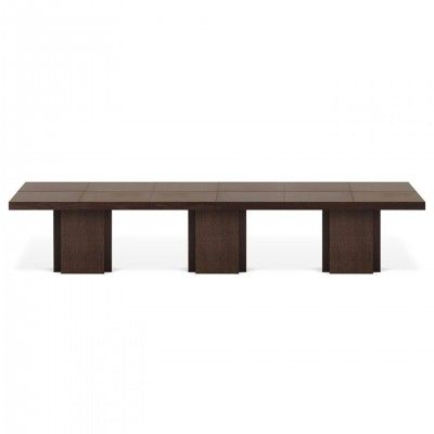 BROWN RECTANGULAR DUSK DINING TABLE I