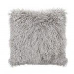 GREY MONGOLIAN CUSHION