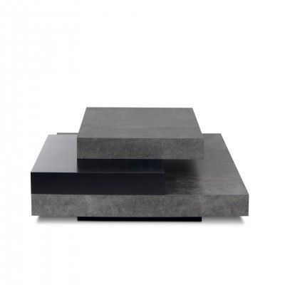BLACK SLATE CENTER TABLE