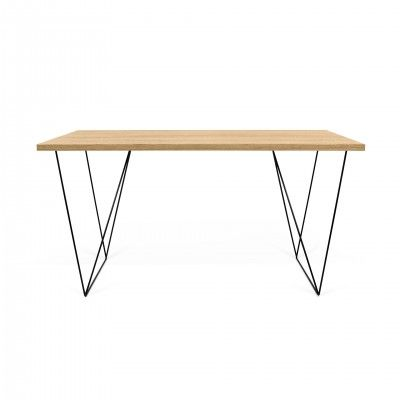 OAK FLOW DESK