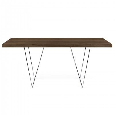 WALNUT MULTI TRESTLES DESK III