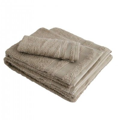 SET 3 SOFT CAMEL BATH TOWEL