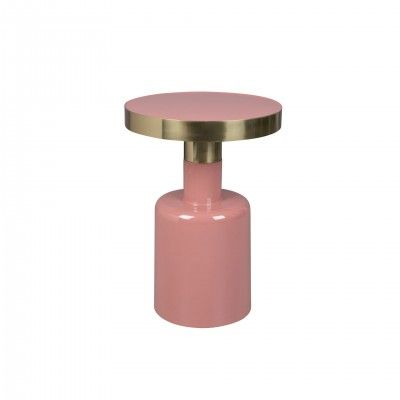 GLAM PINK SIDE TABLE