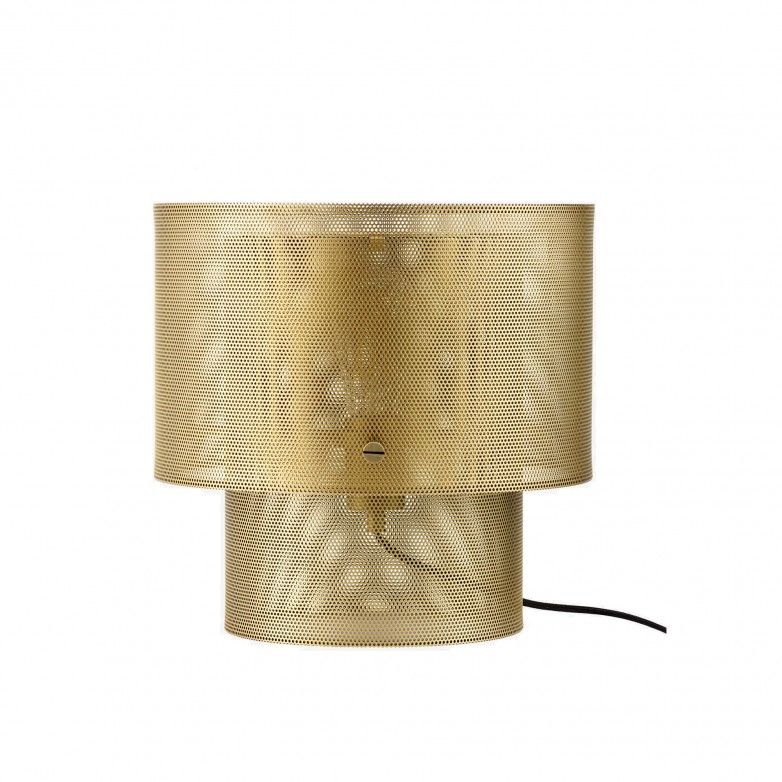 CYLA ANTIQUE BRASS TABLE LAMP - BOLIA