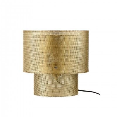 CANDEEIRO MESA CYLA ANTIQUE BRASS - BOLIA