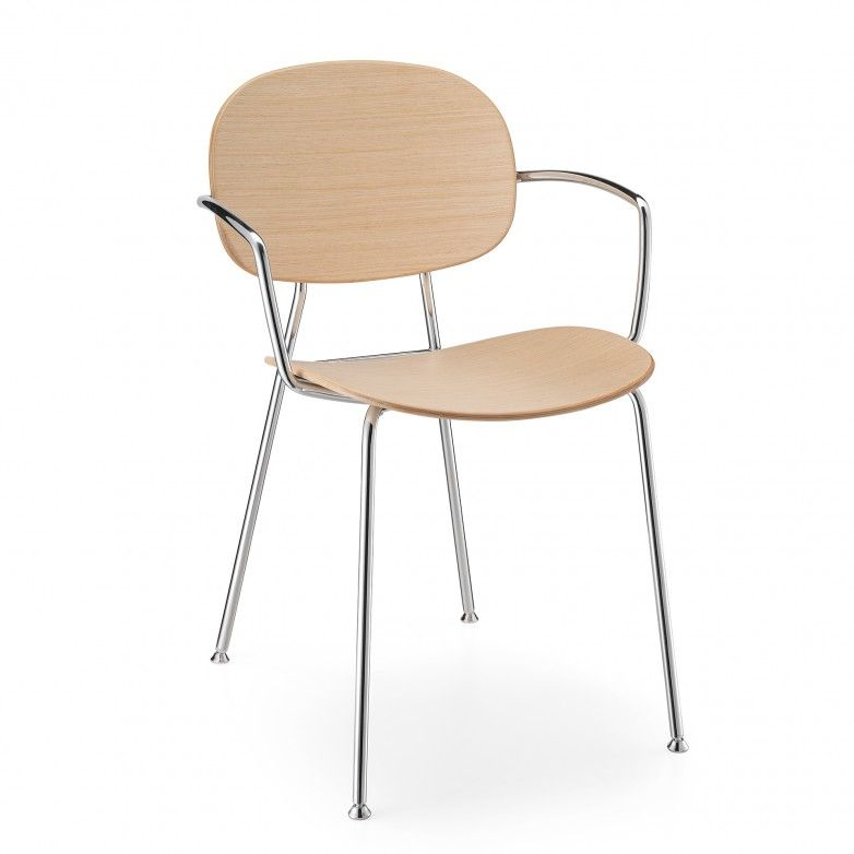 TONDINA CHAIR WITH ARMS