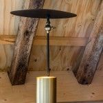 DEVI BLACK TABLE LAMP