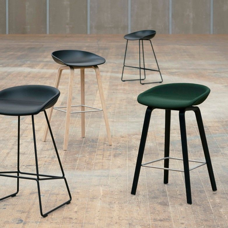 AAS 38 LOW BAR STOOL - HAY