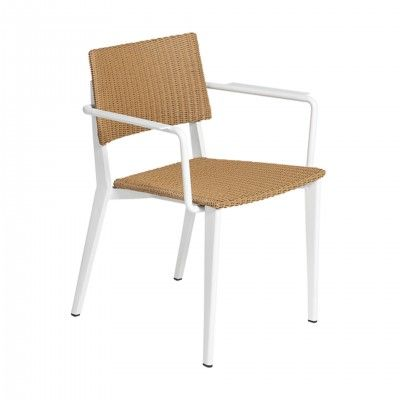RIBA OUTDOOR CHAIR W/ARMRESTS