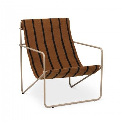 CADEIRÃO LOUNGE DESERT STRIPES - FERM LIVING