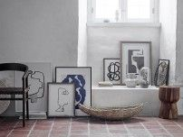 5 ways to organize paintings and photos in the living room