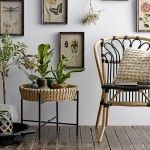 BAMBOO SIDE TABLES SET