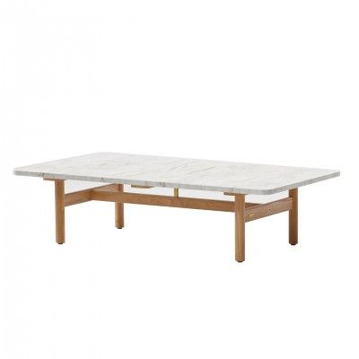 MARBLE OUTDOOR CENTRE TABLE RIVA- KETTAL