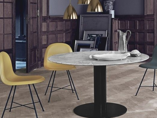 Round, oval or rectangular dining table? How to choose