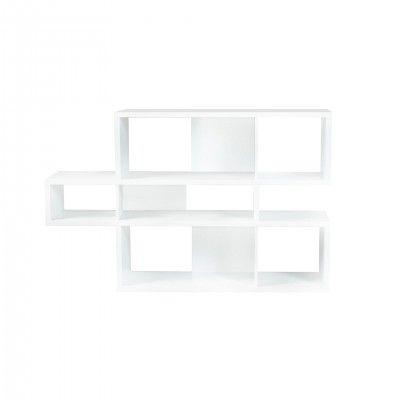 WHITE LONDON BOOKCASE