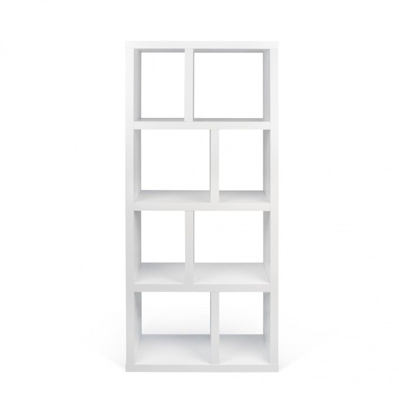 BERLIN PURE WHITE III BOOKCASE