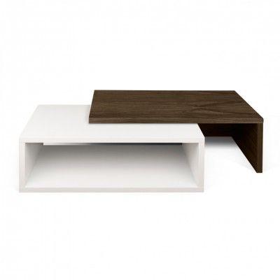 JAZZ WHITE CENTER TABLE