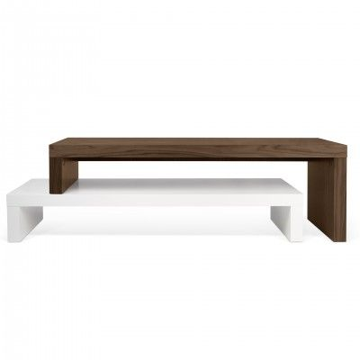 MUEBLE TV CLIFF WHITE WALNUT